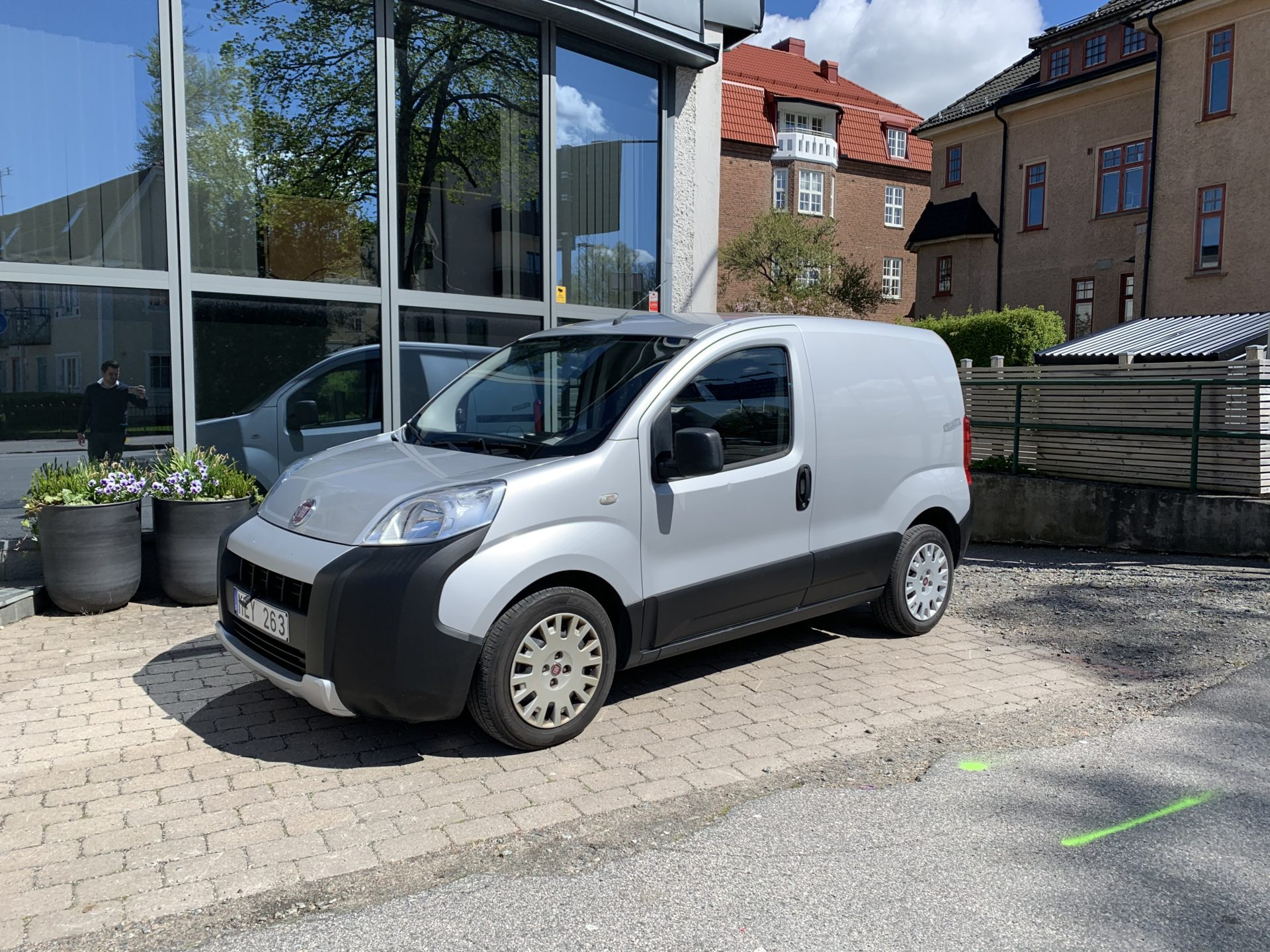 Fiat Fiorino 1.3 95hk / V-hjul