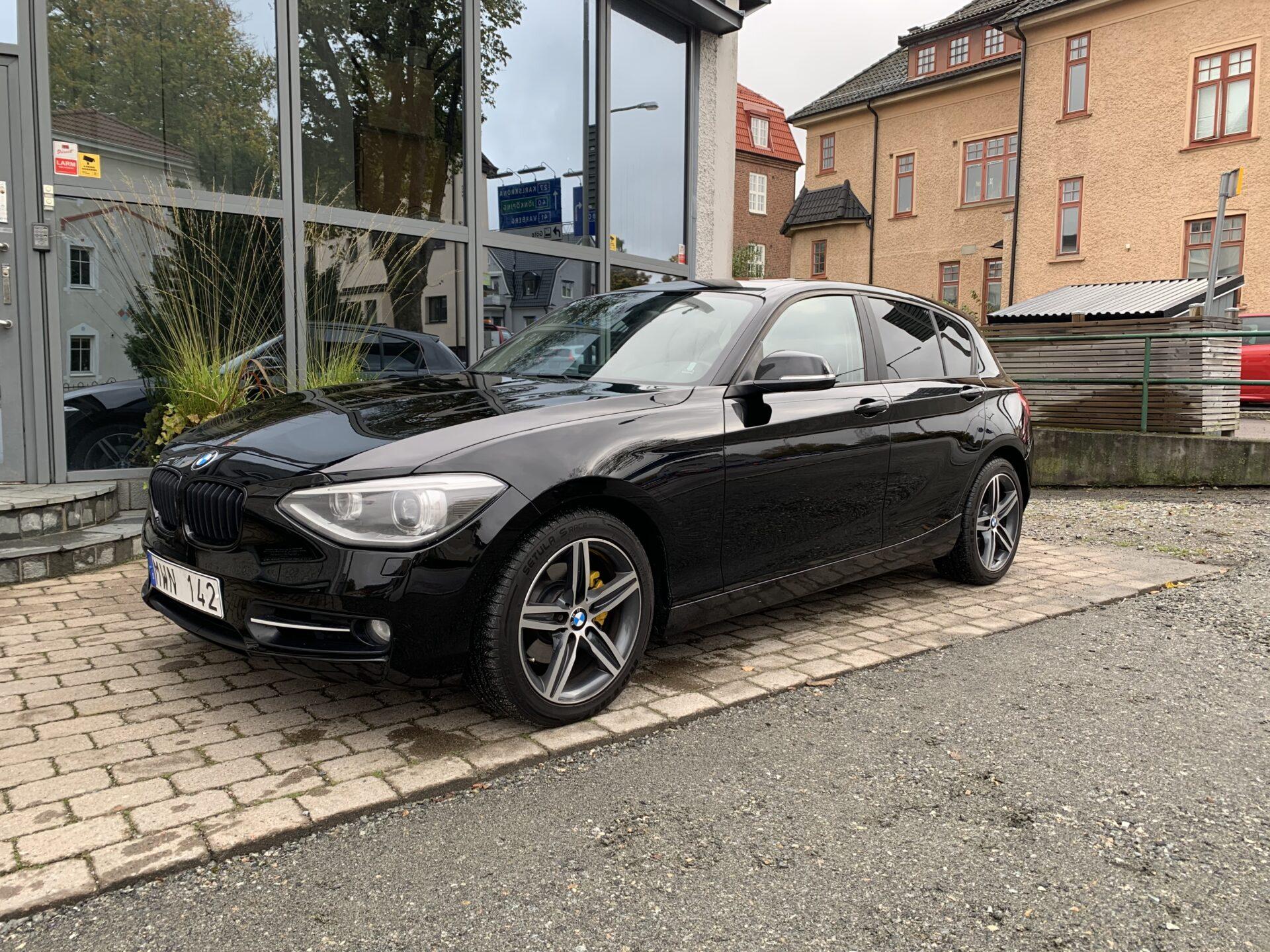 BMW 120 d xDrive Sport line 184hk / taklucka