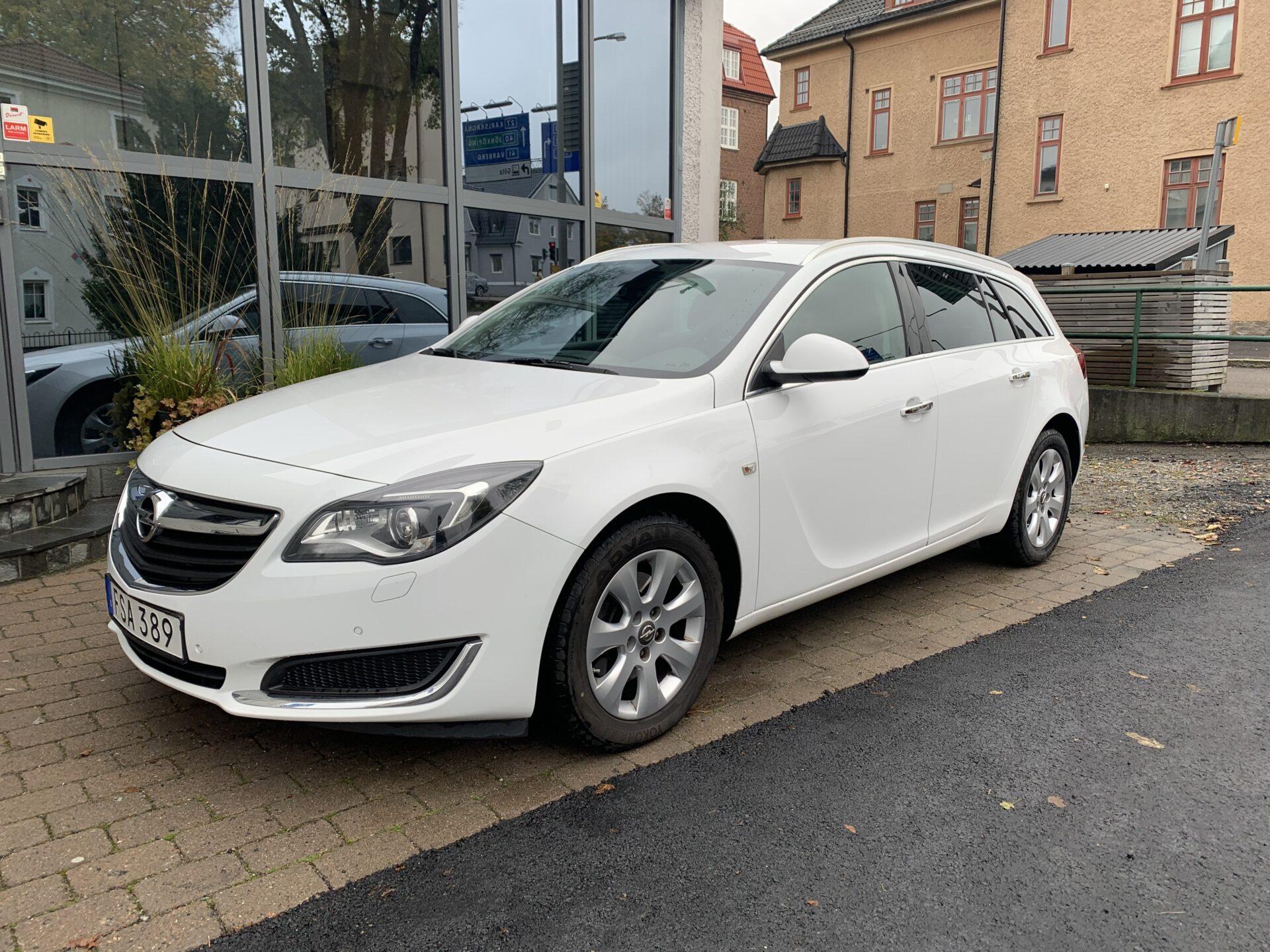 Opel Insignia 2.0 CDTI 4×4 Aut 163hk / Drag