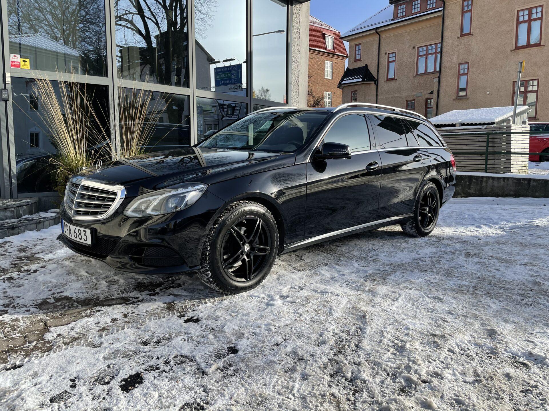 Mercedes-Benz E 220 9G-Tronic Classic 170hk / Drag / V-hjul