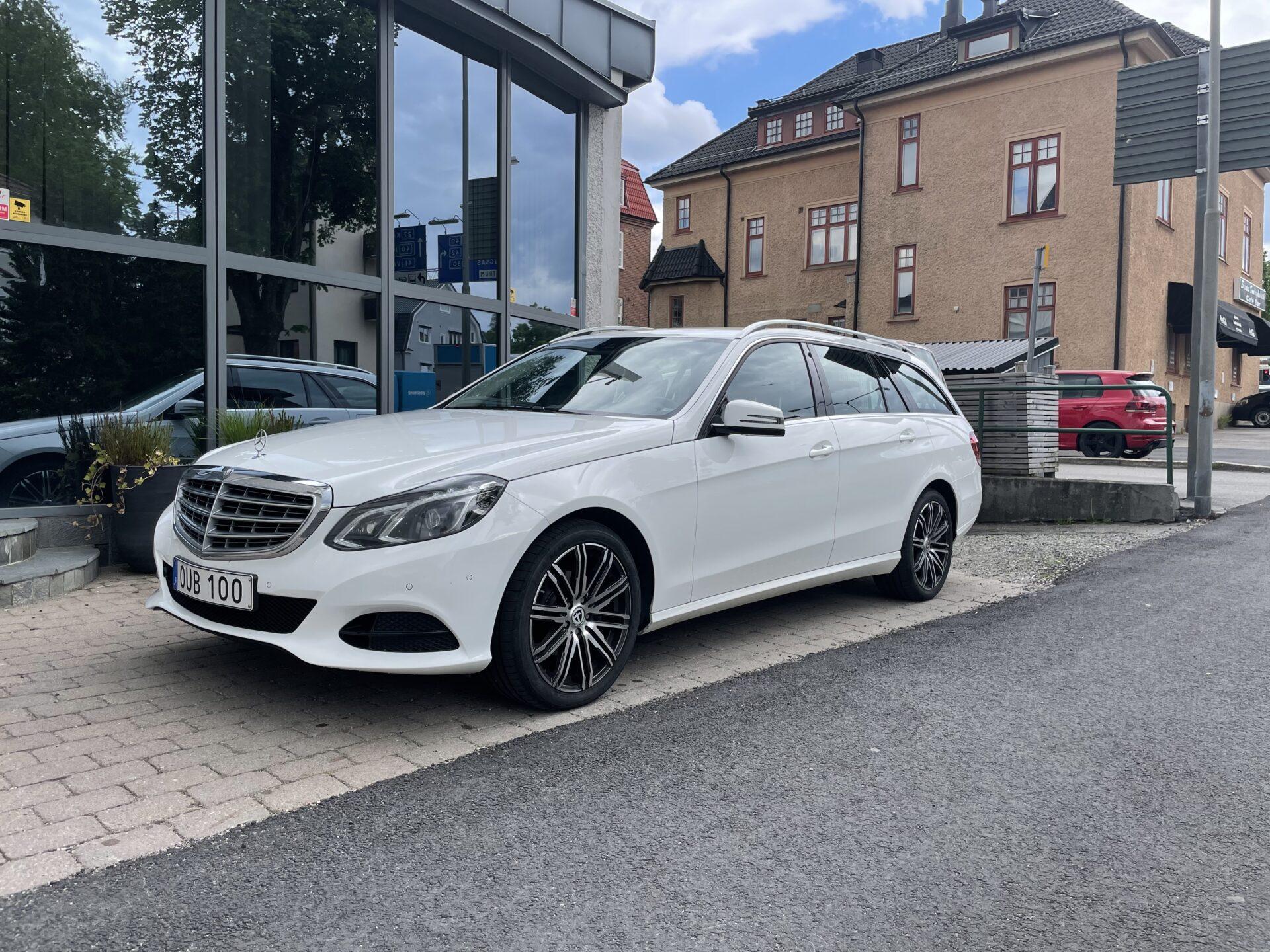 Mercedes-Benz E 220 9G-Tronic Classic 170hk / Navi /Drag